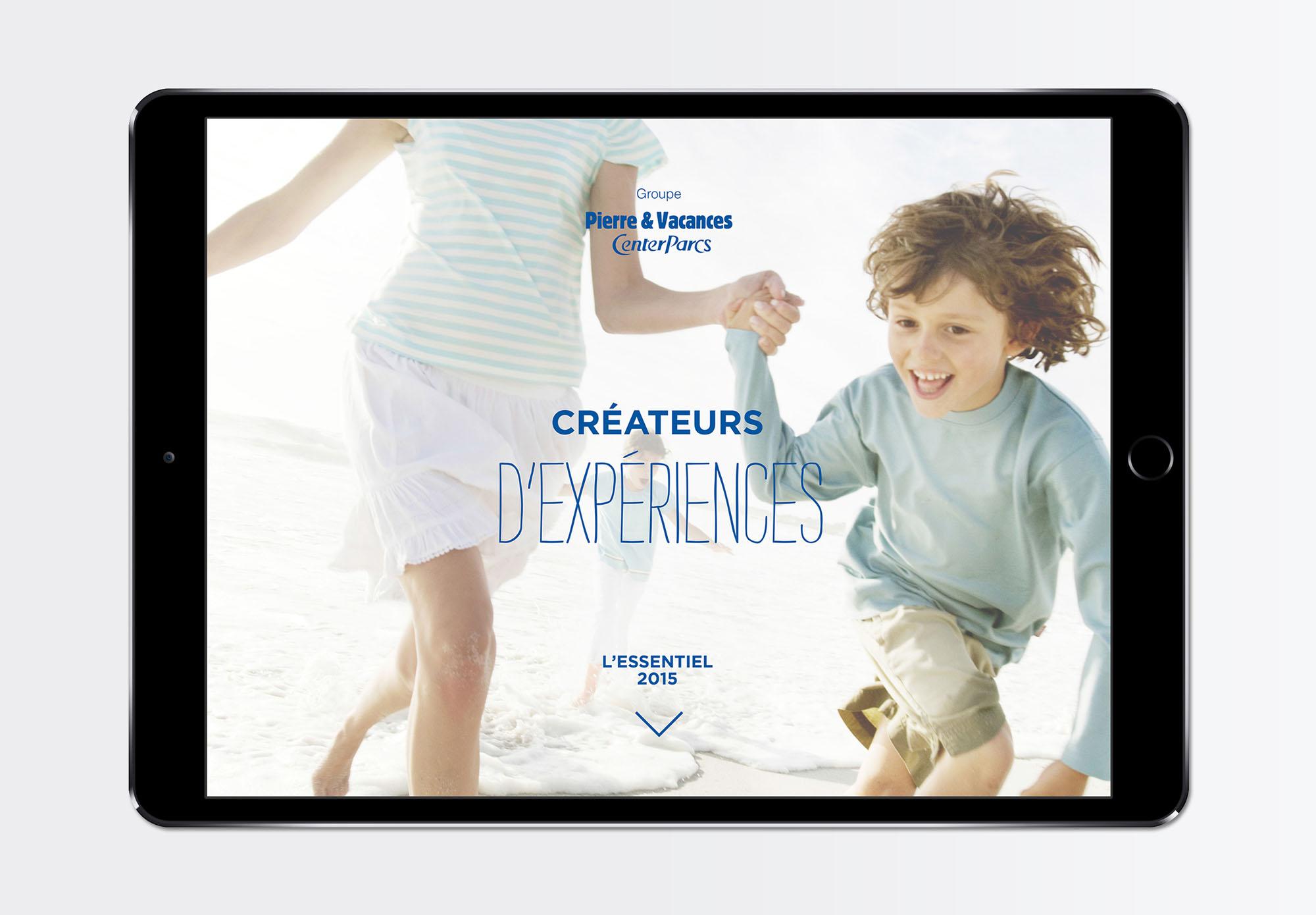 Pierre et Vacances - rapport annuel - version numérique