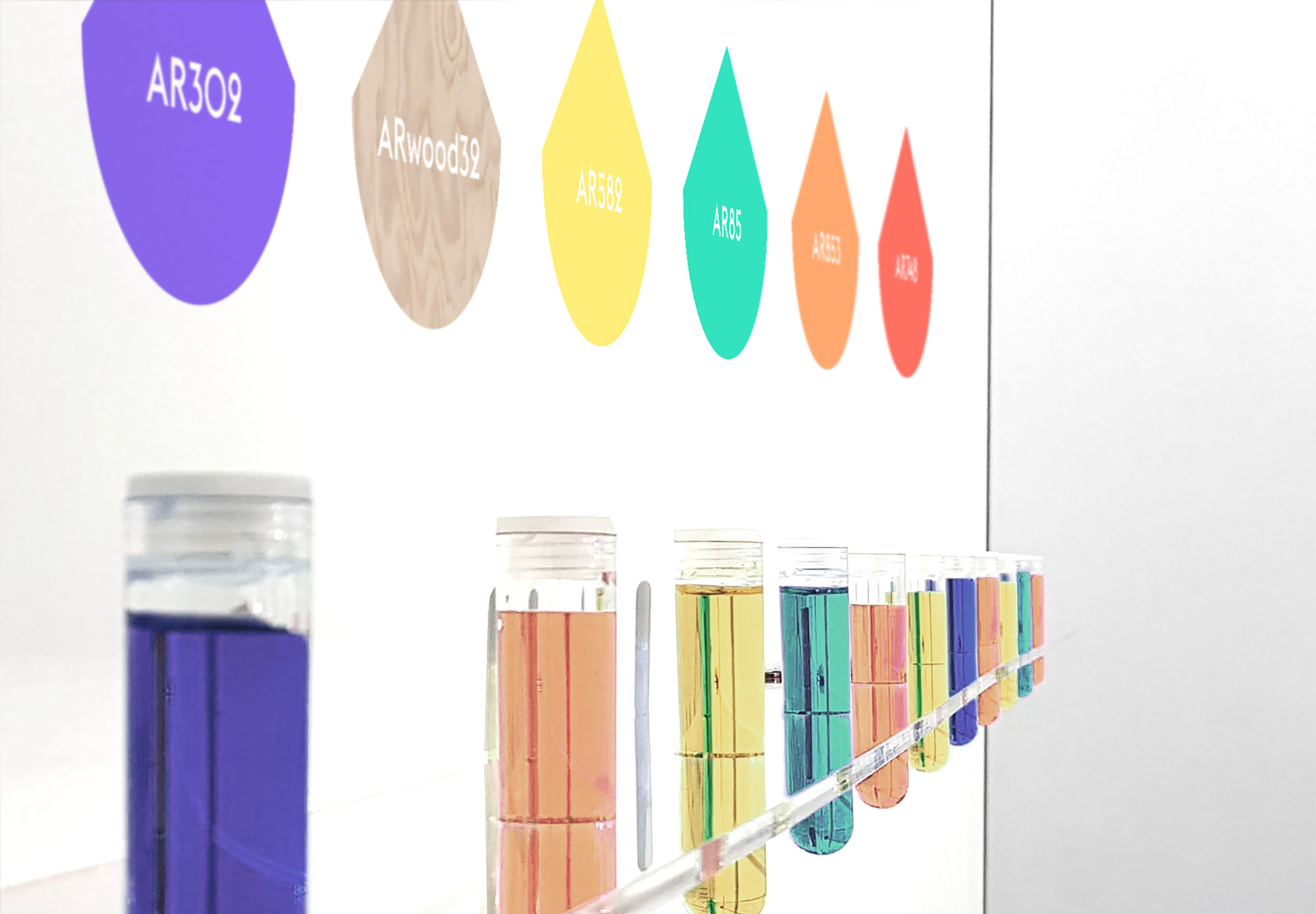 Armor Industrial Inks Lab - stand - encres industrielles