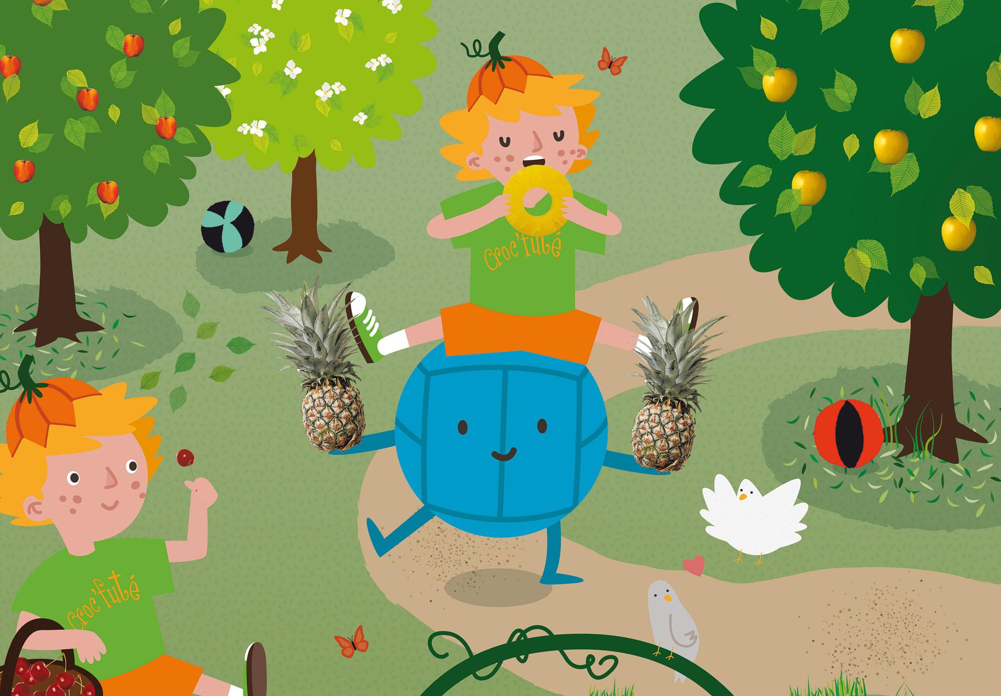 Croc'Futé - poster pédagogique - écoles maternelles