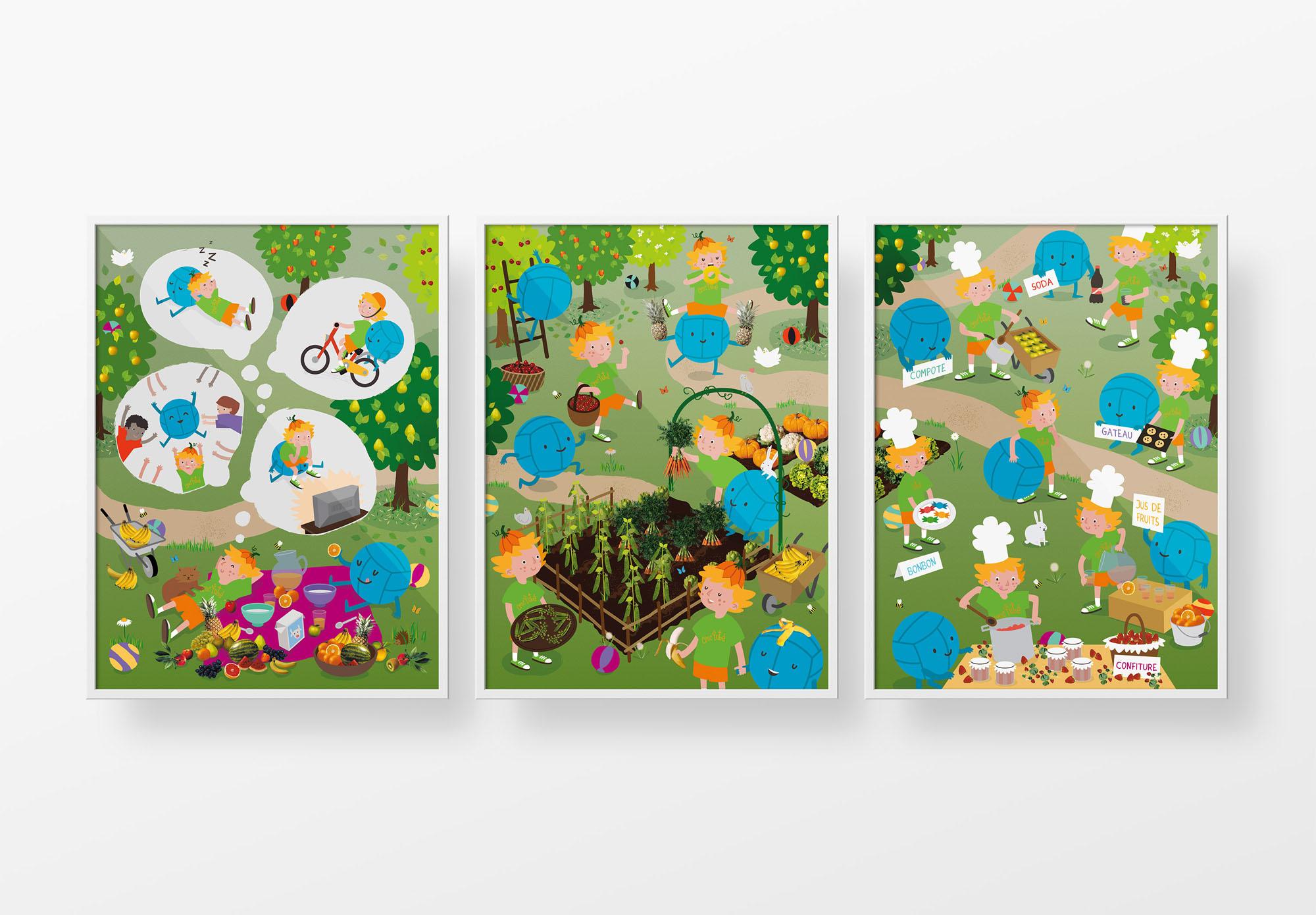 Croc'Futé - posters pédagogiques - écoles maternelles