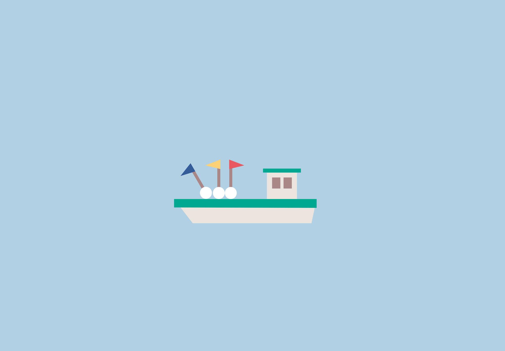 La Rochelle - carte de la ville - bateau ostréiculture