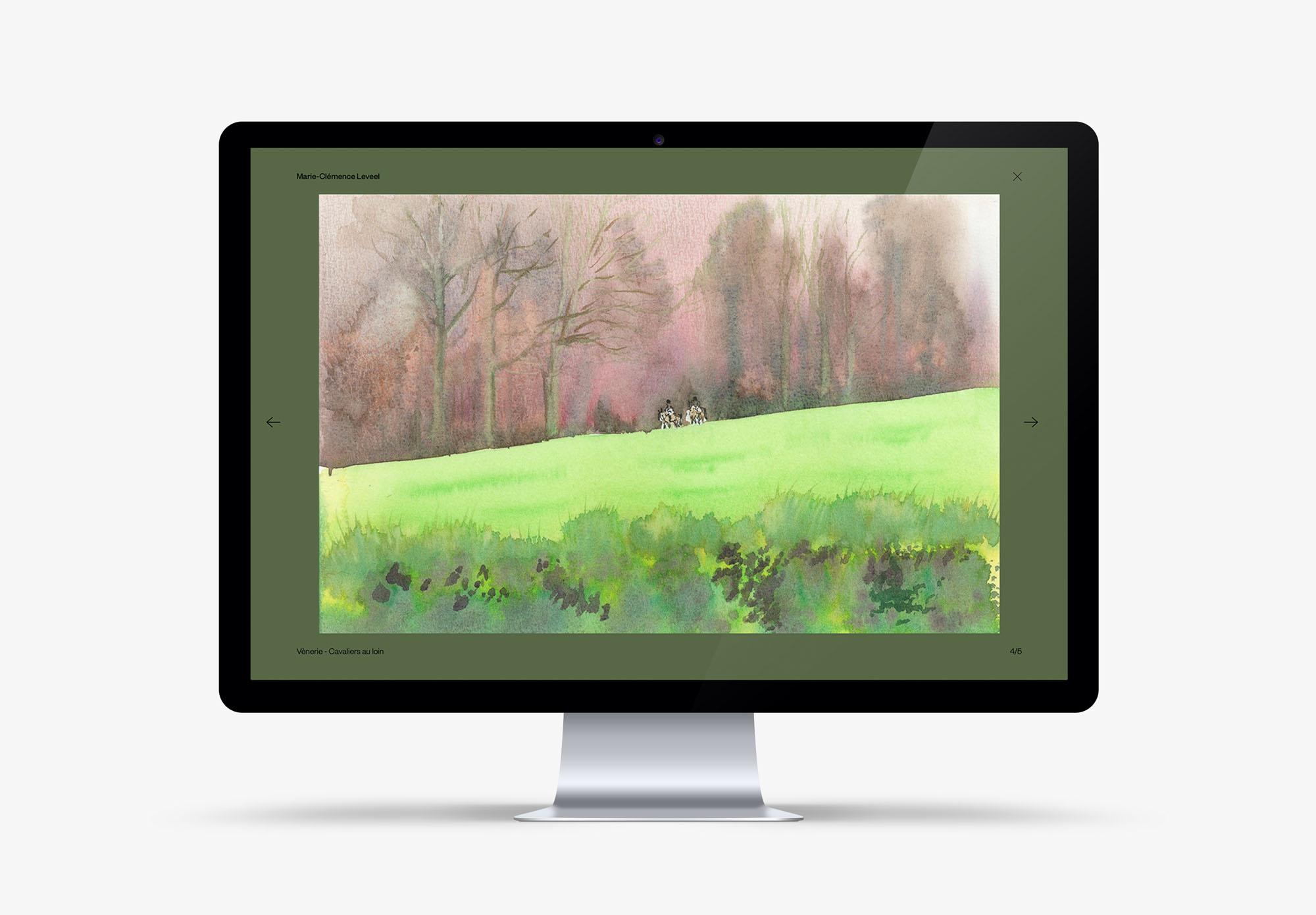 Marie-Clémence Leveel - aquarelliste - site internet