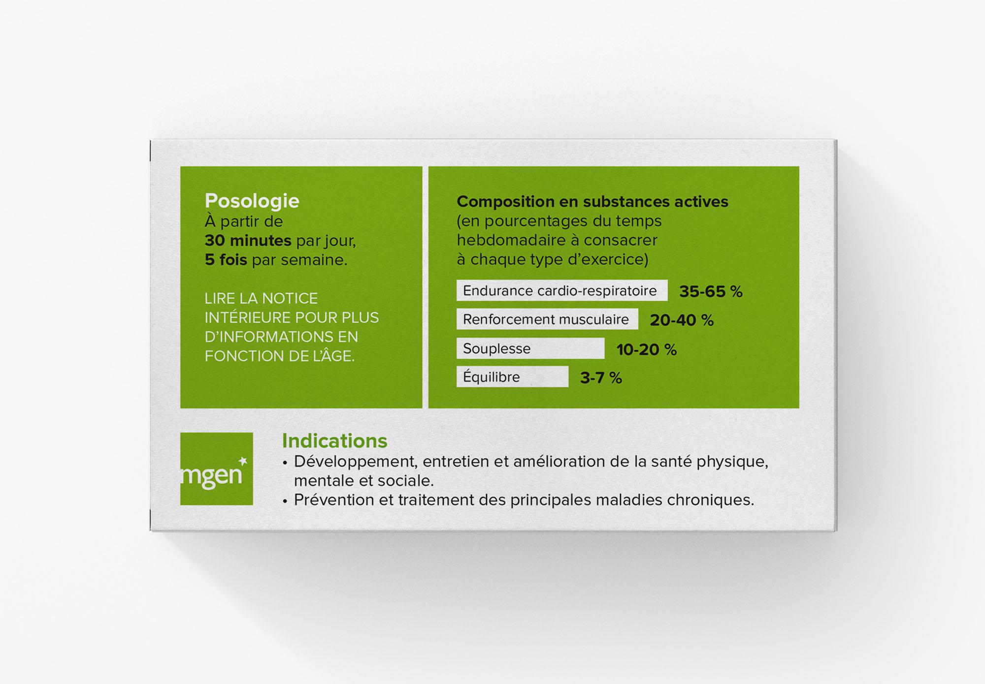 MGEN - sporticament - brochure pour réduire la sédentarité