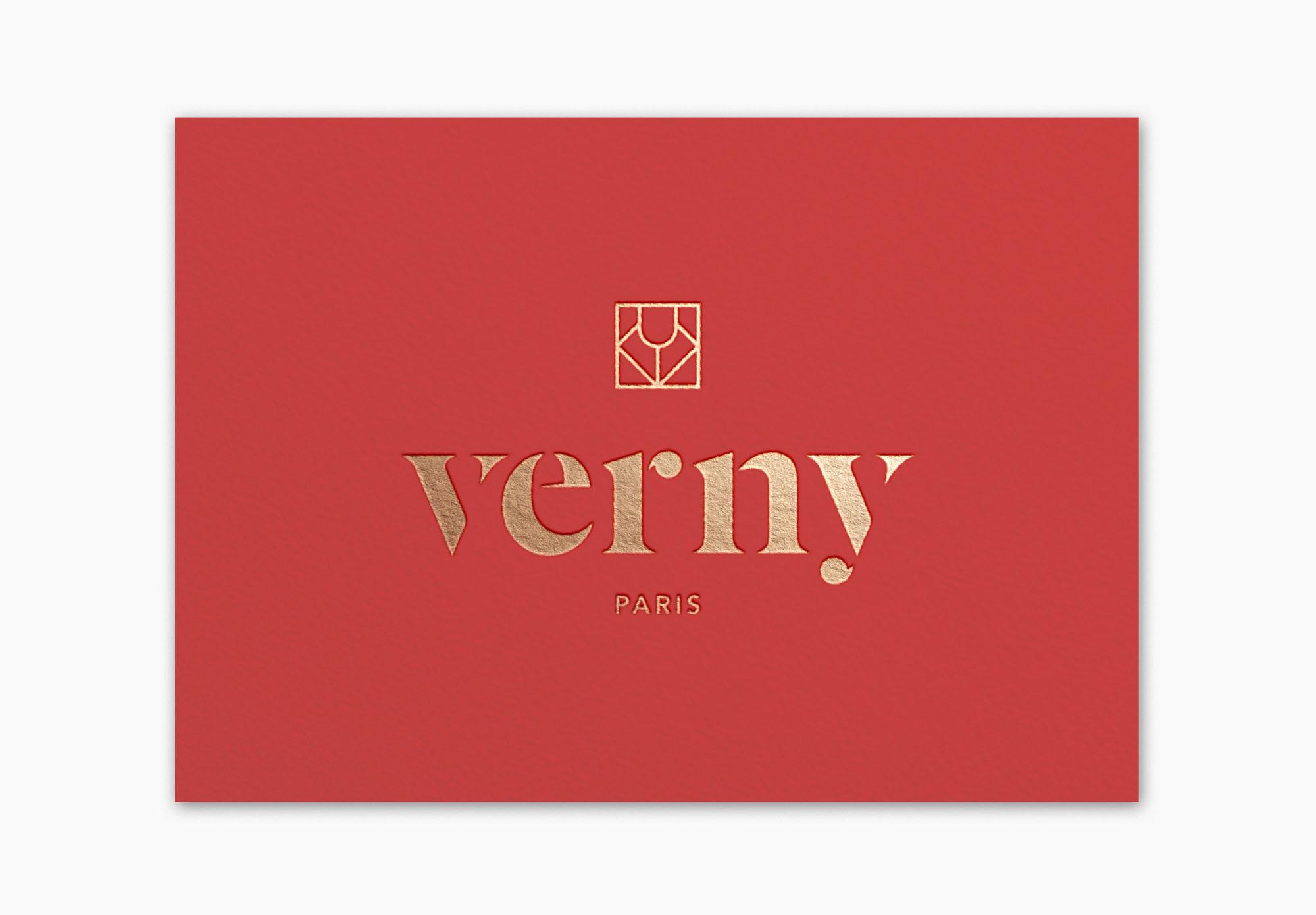 Verny Paris - carte de visite - caviste