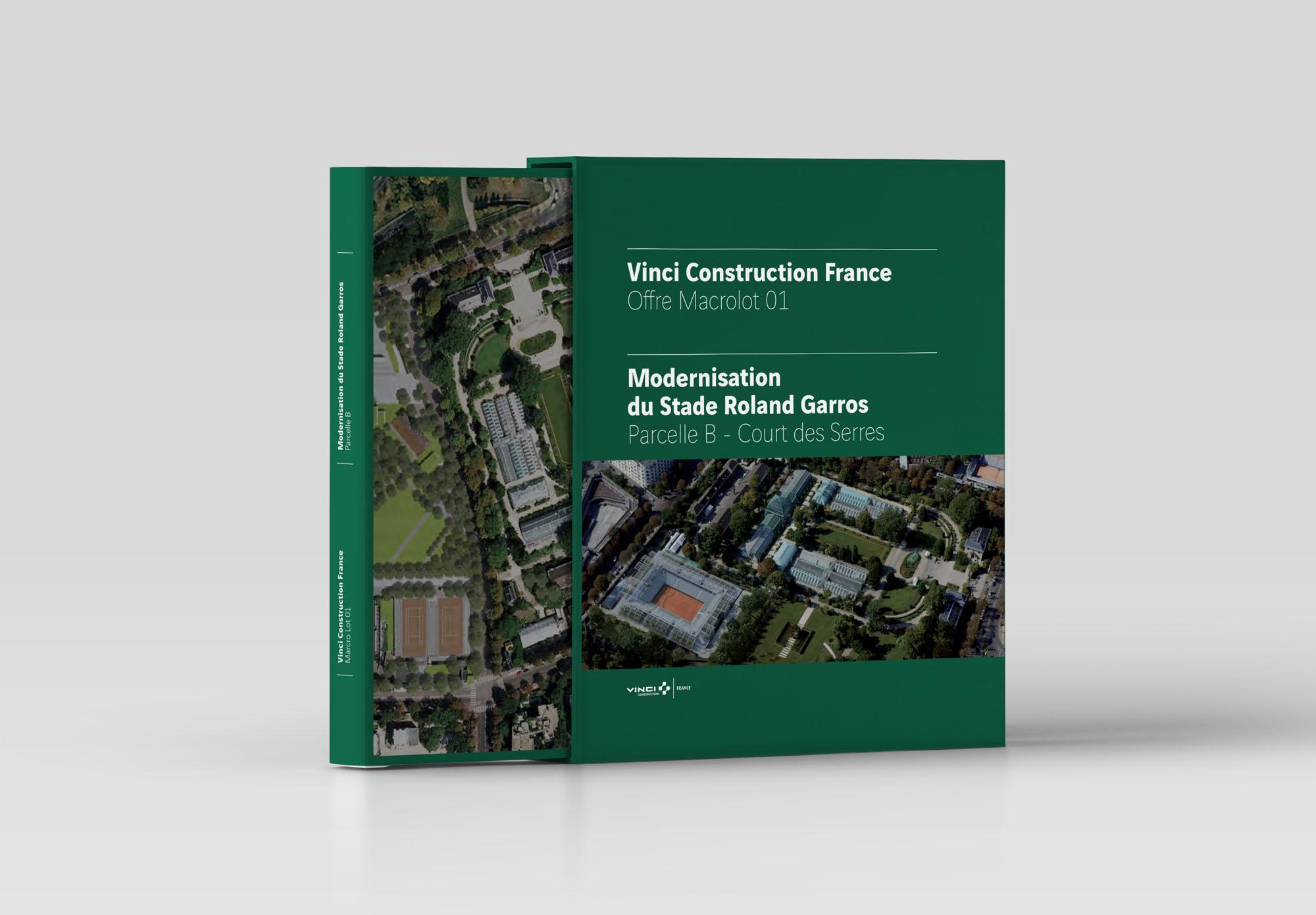 Vinci Construction - appel d'offre Roland Garros - appel d'offre Roland Garros