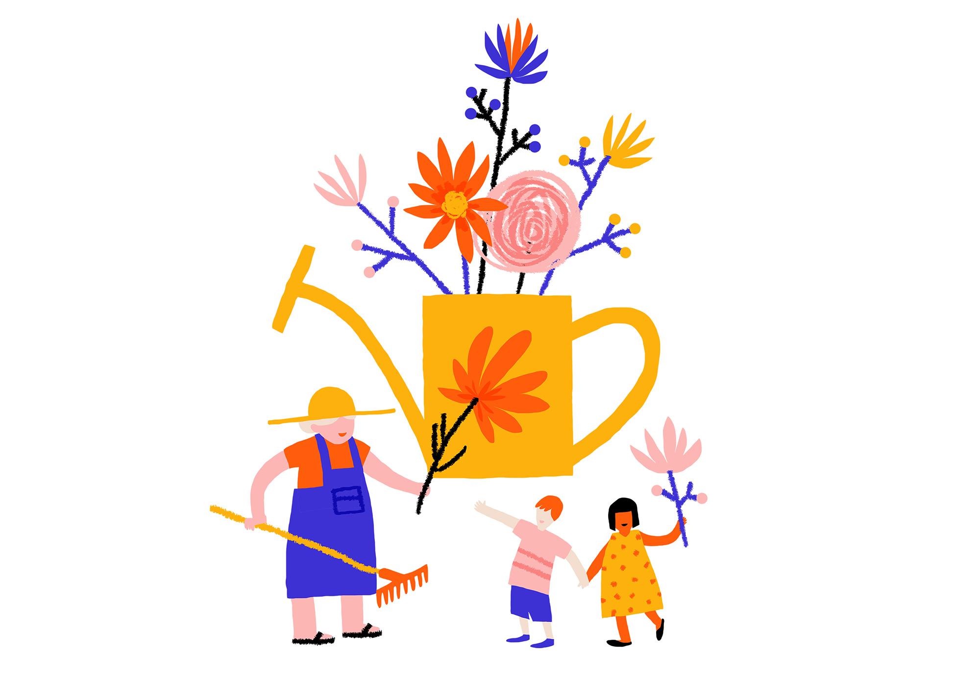 Fondation Brichaux-Tardy - jardinage