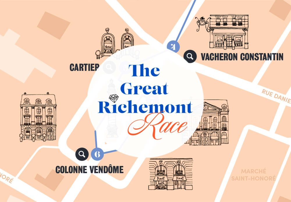 Financial Times - The Great Richmont Race - animation entreprise