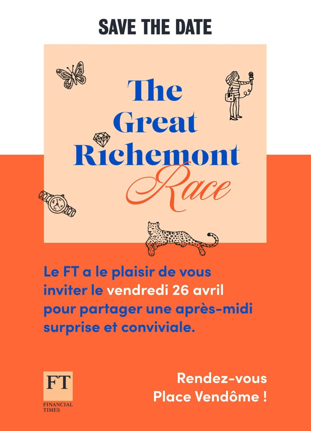 Financial Times - The Great Richmont Race - save the date