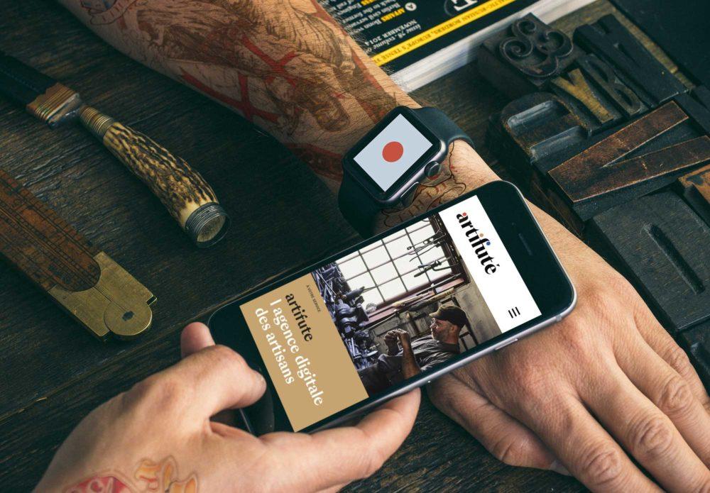 artifuté - l'agence digitale des artisants - identité visuelle