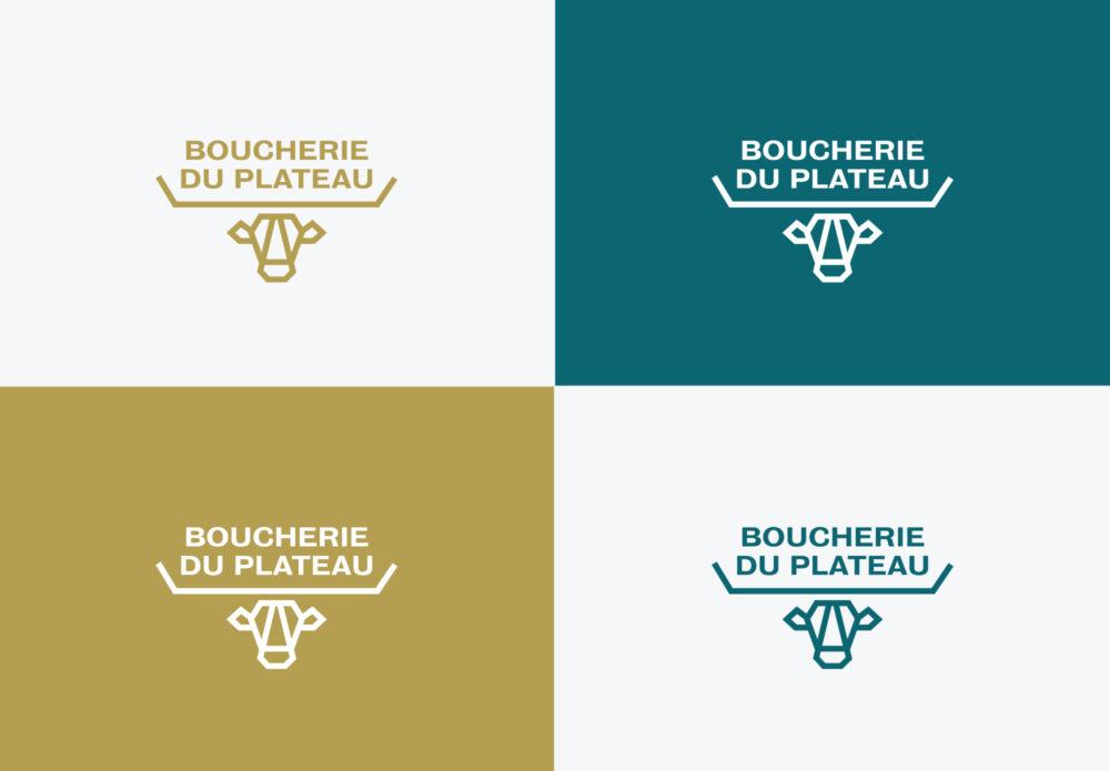 Boucherie du Plateau - Rouen - identité - couleurs
