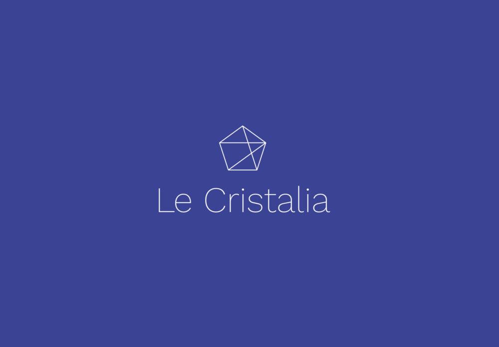 Le Cristalia - identité visuelle - centre de conférence