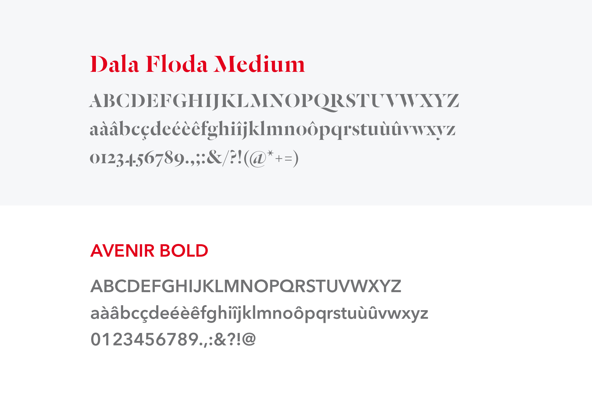 verny identité visuelle typographie