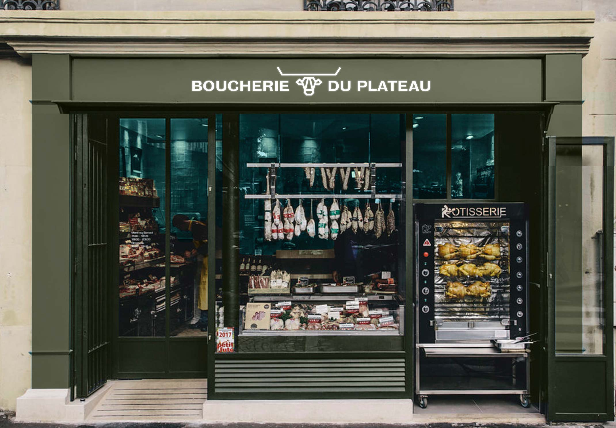 Boucherie du Plateau - Rouen - boutique